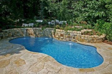 Back Yard Inground Pool Designs