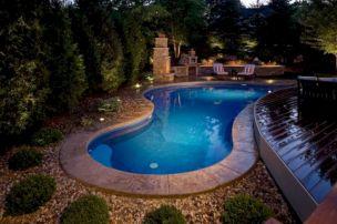Back Yard Swimming Pool Designd Idea