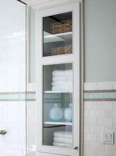 Bathroom Storage Between Wall Studs