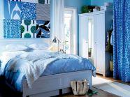 Blue Bedroom Decorating Idea