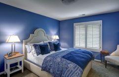 Blue Bedroom Design Idea