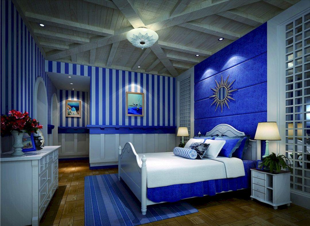 Blue Interior Bedroom Designs
