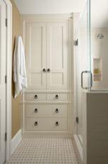 Built In Linen Closet Bathroom