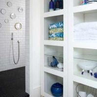 Built In Bathroom Storage Ideas