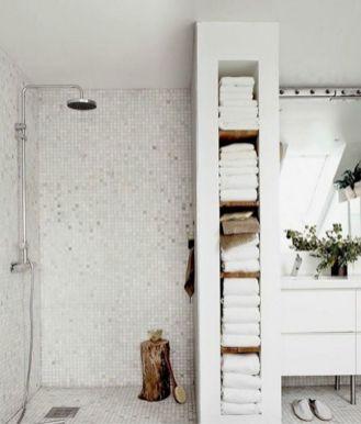 Built In Wall Bathroom Storage