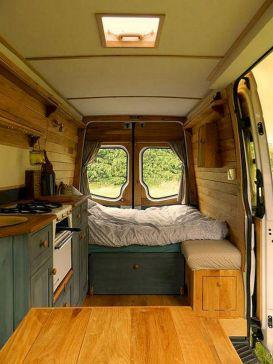 Camper Van Interior Design Ideas