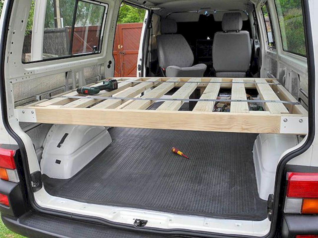 Conversion Van Bed Frame Ideas