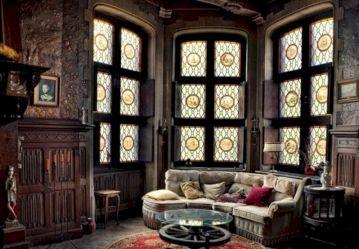 Gothic Victorian Home Interior