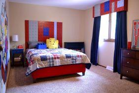 LEGO Boys Bedroom Design Idea