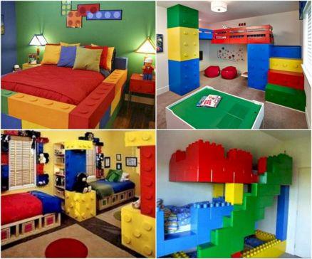 LEGO Boys Bedroom Ideas