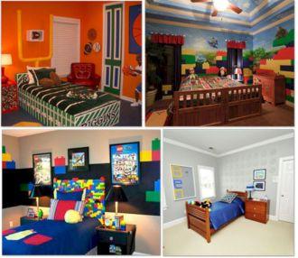 LEGO Boys Room Ideas