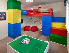 LEGO Storage Ideas For Boys Rooms