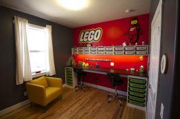 LEGO Storage Ideas In Boys Rooms