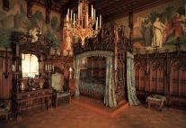 Medieval Castle Interior Bedroom