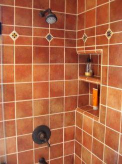 Mexican Ceramic Tile Bathroom Showers