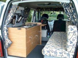 Minivan Camper Conversion Van