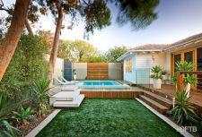 Raised Pool Decks Designs