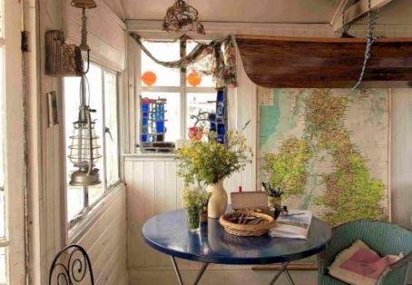 Rustic Beach House Interior Design