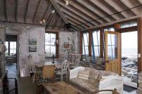 Rustic Beach House Living Room