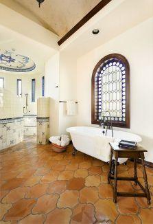 Spanish Mediterranean Bathroom Designs