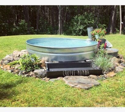 Stock Tank Swimming Pool Water Ideas