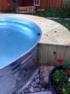 Stock Tank Swimming Pool Water