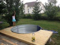 Stock Tank Swimming Pool Waters