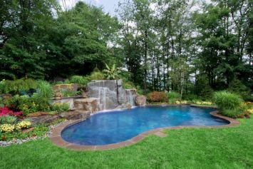 Swimming Pool Landscaping Idea