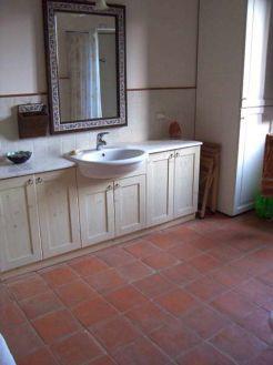 Terracotta Floor Tiles Bathroom