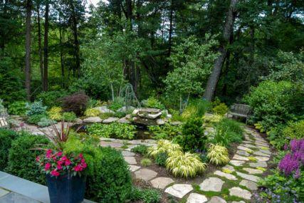 Woodland Garden Landscape Ideas Design