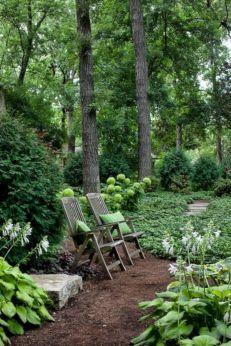 Woodland Garden Landscaping Idea