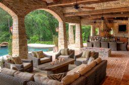Backyard Living Space Design Ideas 13