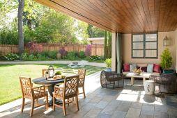 Backyard Living Space Design Ideas 20