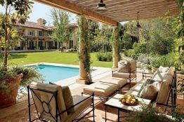 Backyard Living Space Design Ideas 23
