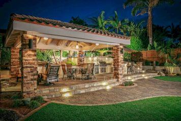 Backyard Living Space Design Ideas 29