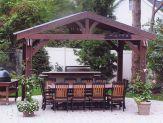 Backyard Living Space Design Ideas 8