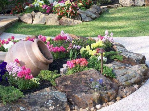 Gorgeous Rock Garden Ideas 22