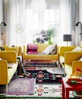 Living Room Rug Layering 110
