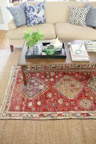Living Room Rug Layering 127