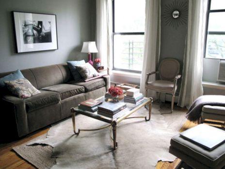 Living Room Rug Layering 13