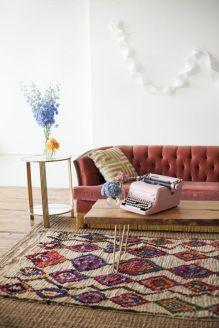 Living Room Rug Layering 14