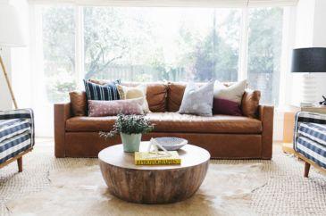 Living Room Rug Layering 18