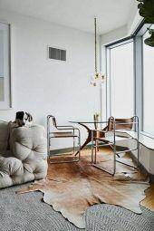 Living Room Rug Layering 19
