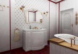 Modern Vintage Bathroom Ideas 16