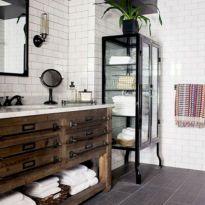 Modern Vintage Bathroom Ideas 19