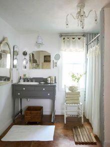 Modern Vintage Bathroom Ideas 22