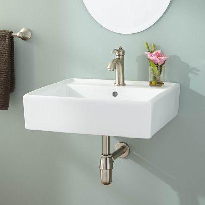 Small Bathroom Flat Sink Ideas 1