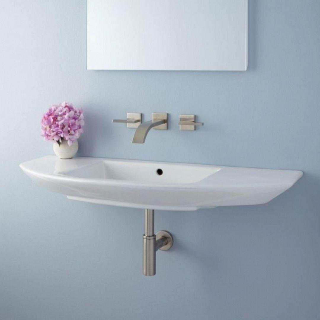 Small Bathroom Flat Sink Ideas 21