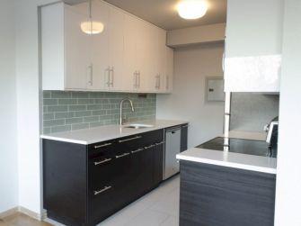 Contemporary White Kitchen Backsplash 111