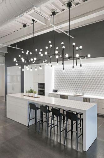 Contemporary White Kitchen Backsplash 118